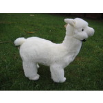 Large Alpaca Soft Toy - Colour White